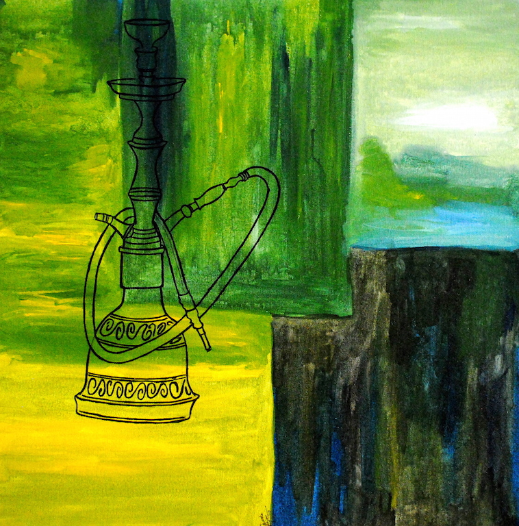 sheesha_acrylic_on_canvas_24x24